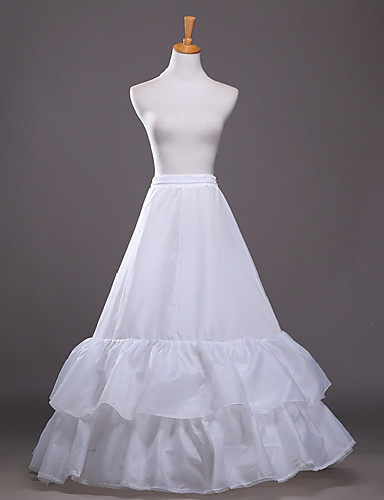 Hearty 2 Hoop Train White Black Pbridal Etticoat Wedding Crinolines Dress Slips Ladies Underskirt A Complete Range Of Specifications Petticoats