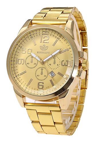 Damen Einzigartige kreative Uhr Armbanduhr Militäruhr Modeuhr Sportuhr Armbanduhren für den Alltag Quartz Kalender Edelstahl Band Charme