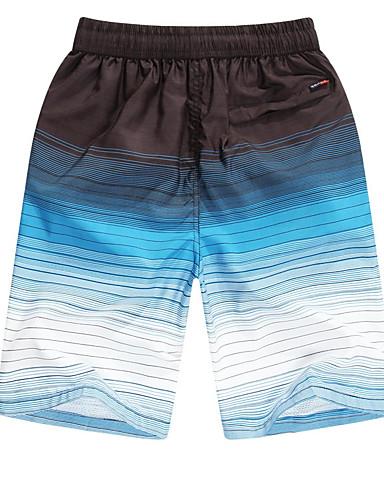 Herren Einfach Mittlere Hüfthöhe Mikro-elastisch Kurze Hosen Gerade Hose Einfarbig
