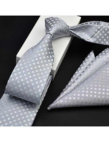 billige Slips og butterfly-Herre Formelt Slips Trykt mønster, Geometrisk