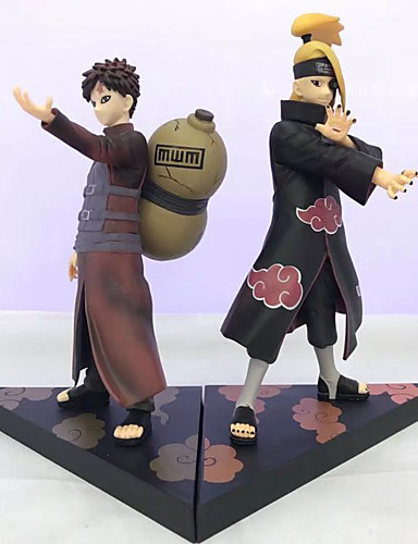 billige Cosplay og kostumer-Anime Actionfigurer Inspireret af Naruto Deidara PVC CM Model Legetøj Dukke Legetøj Unisex