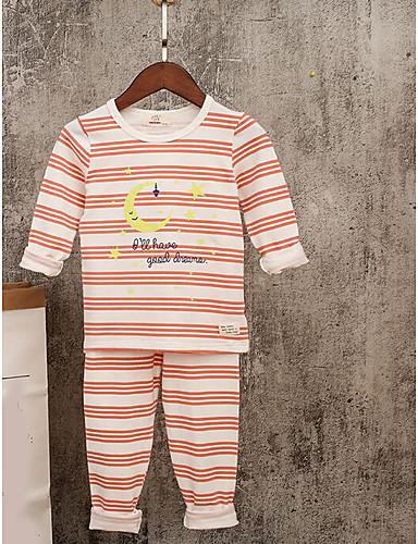 Jungen Sets Streifen Baumwolle Herbst Kleidungs Set