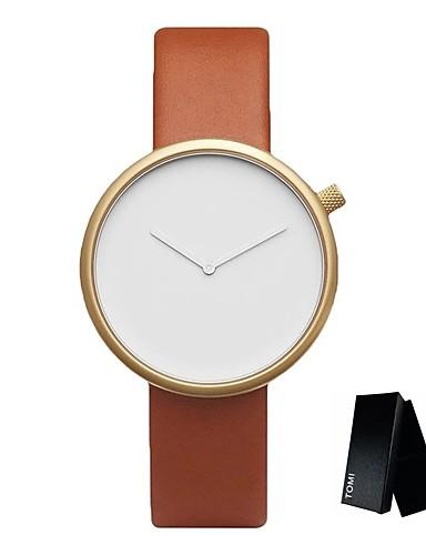 herrn sportuhr milit ruhr armbanduhr quartz leder schwarz braun kreativ armbanduhren f r den. Black Bedroom Furniture Sets. Home Design Ideas