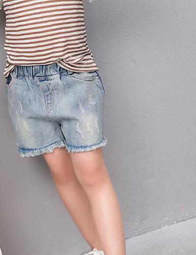 Mädchen Shorts einfarbig Andere Sommer