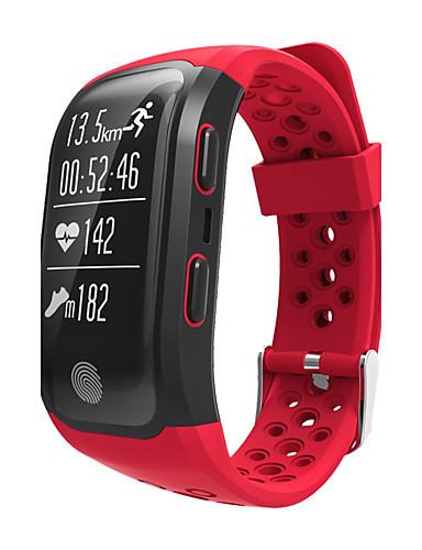 7ab79fdf62e Homens Relógio Esportivo Relógio Militar Relógio inteligente Quartzo Digital  Silicone Cores Múltiplas Impermeável Monitor de Batimento Cardíaco Alarme  ...