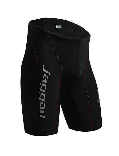 cheap Cycling Clothing-Jaggad Men's Cycling Padded Shorts Bike Padded Shorts / Chamois Pants Bottoms Sports Solid Color Spandex Black / Red Mountain Bike MTB Road Bike Cycling Clothing Apparel Relaxed Fit Bike Wear
