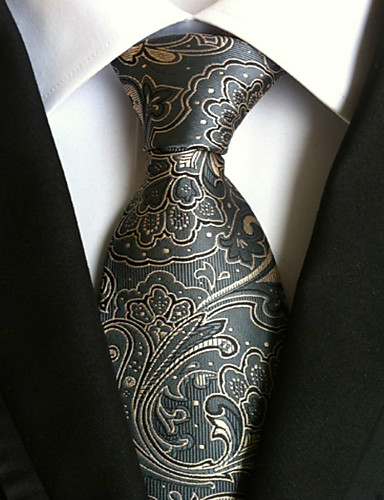 Men's Work Basic Necktie - Jacquard