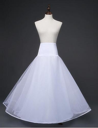 abordables Dessous de Robe de Mariage-Mariage Enterrement de Vie de Jeune Fille Déshabillés Alliage Organza Mollet Basique avec
