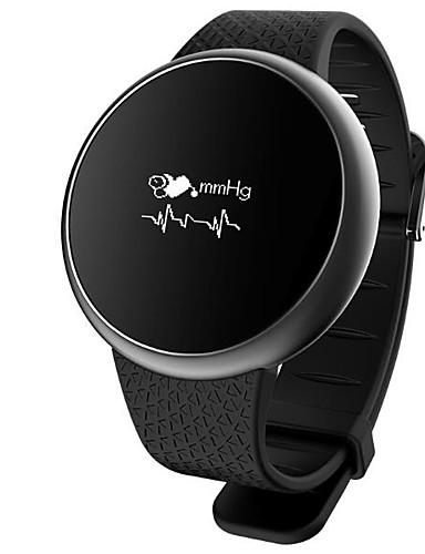 Férfi Női Sportos óra Katonai óra Intelligens Watch Digitális 30 m Vízálló Szívritmus monitorizálás Naptár Fém Szilikon Zenekar Digitális Amulett Luxus Alkalmi Fekete / Fehér / Arany - Arany Fehér