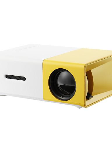 رخيصةأون اكسسوارات الصوت-LCD أجهزة إسقاط صغيرة LED جهاز إسقاط 2000 lm الدعم SVGA (800X600) 20 بوصة شاشة / HVGA (480x320) / ±15°