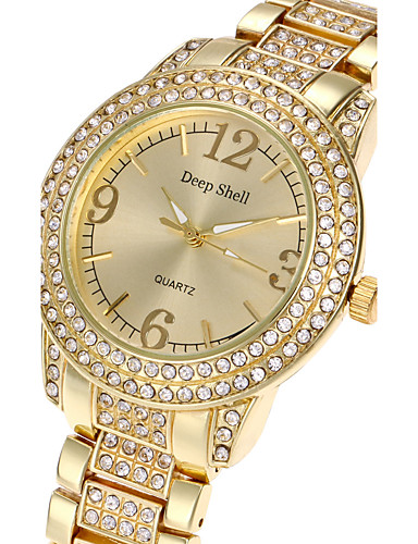 Women's Wrist Watch Cool Alloy Band Luxury / Casual / Fashion Silver / Gold