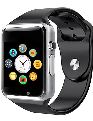 A1 relógio de pulso bluetooth relógio inteligente pedômetro esporte com câmera SIM câmera inteligente para smartphone Android