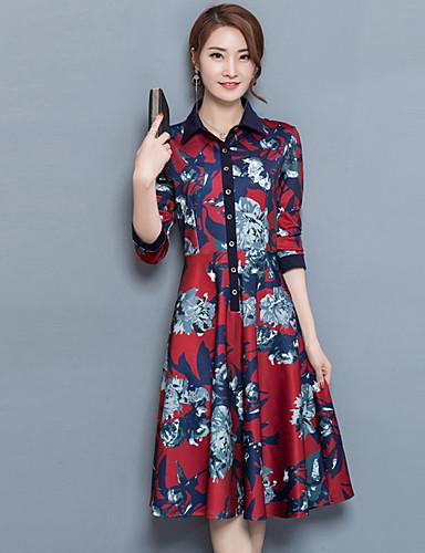 femme grandes tailles gaine robe imprim col de chemise. Black Bedroom Furniture Sets. Home Design Ideas