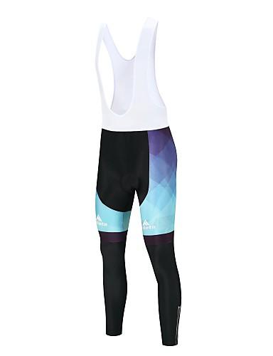 cheap Cycling Clothing-Miloto Men's Cycling Bib Tights Bike Bib Tights Sports Lycra Winter White / Black Road Bike Cycling Clothing Apparel Relaxed Fit Bike Wear / Stretchy