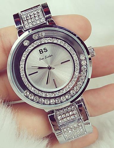 Damskie Kwarcowy Zegarek na nadgarstek Japoński Wodoszczelny Stal nierdzewna Pasmo Symulowany zegarek Diamond Unikalny twórczy zegarek