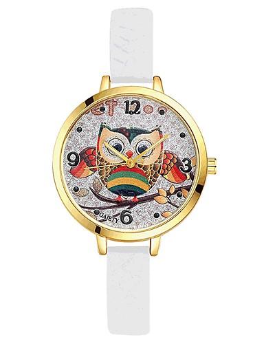 Damskie Kwarcowy Zegarek na nadgarstek Chiński Gorąca wyprzedaż Żel krzemionkowy Pasmo Na co dzień Kolorowy Elegancki Czarny Biały