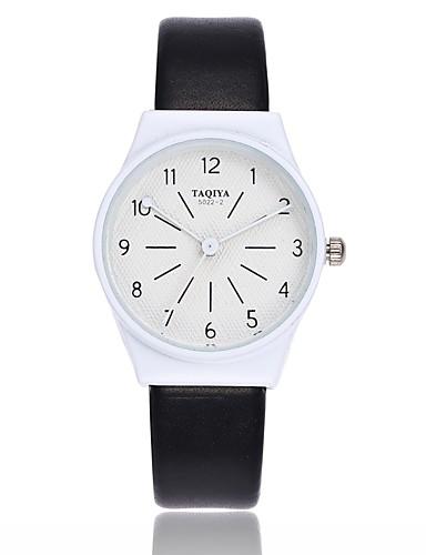 Damskie Kwarcowy Zegarek na nadgarstek Chiński Na codzień PU Pasmo Na co dzień Minimalistyczny Kolorowy Czarny Biały Szary