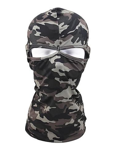 cheap Cycling Clothing-Balaclava Pollution Protection Mask Warm Bike / Cycling Mineral Green Camouflage Khaki Polyester for Men's Women's Adults' Camping / Hiking Ski / Snowboard Cycling / Bike Bike / Cycling Camo