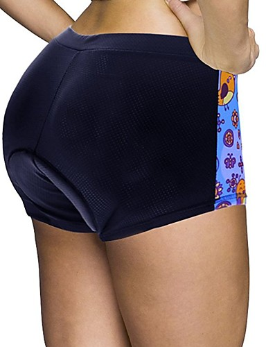 cheap Cycling Clothing-ILPALADINO Women's Cycling Under Shorts Cycling Shorts Bike Shorts Padded Shorts / Chamois Bottoms 3D Pad Quick Dry Anatomic Design Sports Solid Color Spandex Elastane Lycra Black Road Bike Cycling