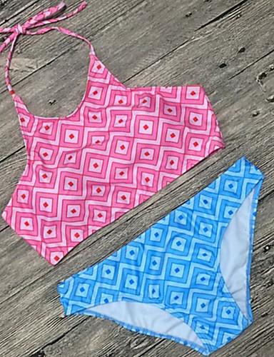 מכנס צבעים מרובים, דפוס - ביקיני בגדי ריקוד נשים