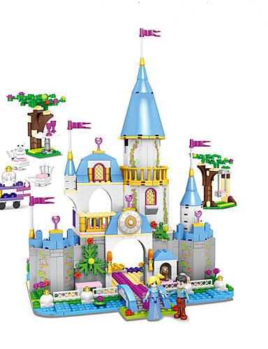 povoljno Kocke za slaganje-Kocke za slaganje Građevinski set igračke Poučna igračka Mitologija Tema bajka Arhitektura kompatibilan Legoing Fin Interakcija roditelja i djece Anime Dječaci Djevojčice Igračke za kućne ljubimce