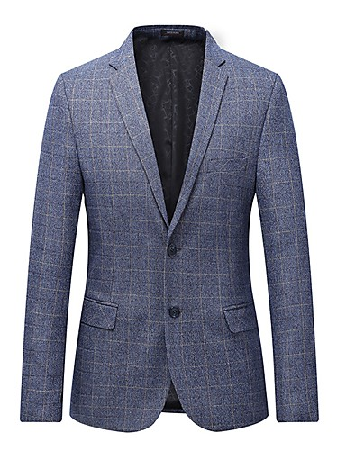 Bărbați Mărime Plus Size Blazer Plisat
