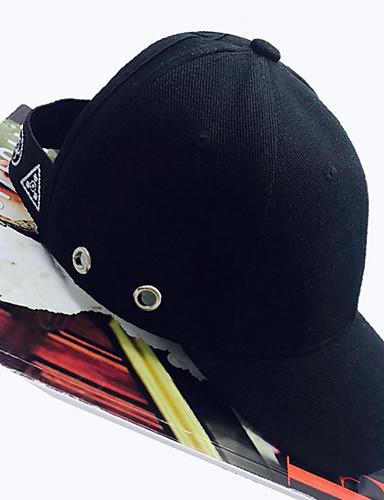 לבן שחור כובע בייסבול כותנה אביב סתיו יום יומי