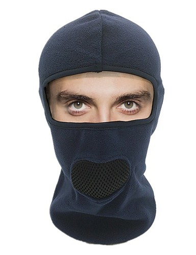 cheap Cycling Clothing-WOSAWE Balaclava Warm Camping & Hiking Breathability Comfortable Bike / Cycling Black Grey Dark Navy Wool Winter for Men's Women's Adults' Ski / Snowboard Fishing Cycling / Bike Traveling Back Country