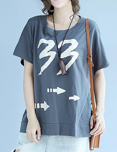 T-shirt Damskie Podstawowy Solidne kolory