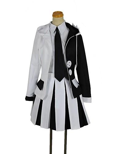 """billige Anime cosplay-Inspirert av Danganronpa Monokuma Anime  """"Cosplay-kostymer"""" Cosplay Klær Annen Langermet Frakk / Trøye / Skjørte Til Unisex"""