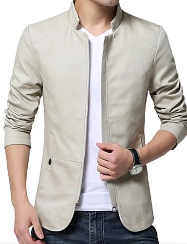 Men's Basic Jacket - Solid Colored
