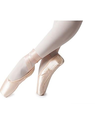 d0e16cb9557 Κοριτσίστικα Παπούτσια μπαλέτο Μετάξι Χωρίς Τακούνι Κορδέλα Επίπεδο Τακούνι  Εξατομικευμένο Παπούτσια Χορού Ροζ / Εσωτερικό / Εξάσκηση