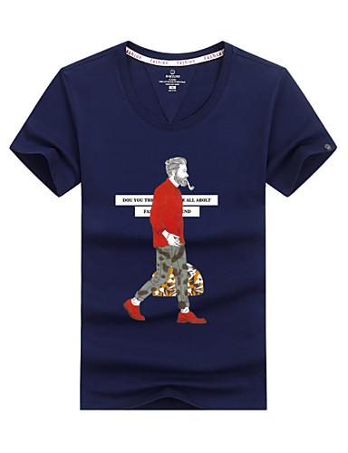 Bărbați Tricou Șic Stradă - Portret