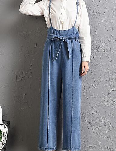 Pentru femei Activ salopetă Pantaloni Mată Alb negru