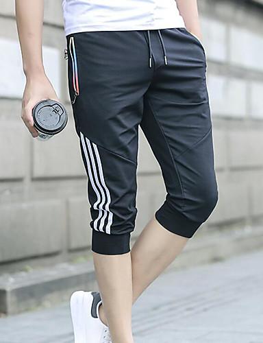 Bărbați De Bază Pantaloni Chinos Pantaloni Dungi
