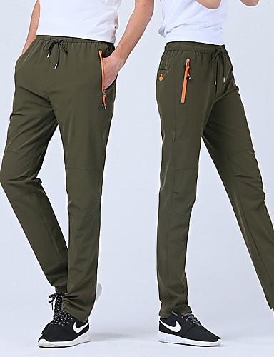 80bbcc33c7 Men's Hiking Pants Outdoor Waterproof Fast Dry Quick Dry Anatomic Design  Summer Spandex Pants / Trousers Hunting Dark Grey Army Green Khaki XXXL 4XL  5XL / ...