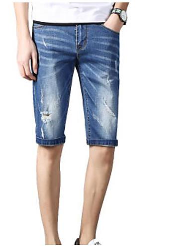 Bărbați De Bază Mărime Plus Size Pantaloni Scurți Pantaloni Mată