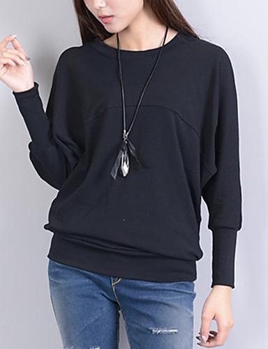 Pentru femei Tricou Vintage - Mată Franjuri Negru & Roșu