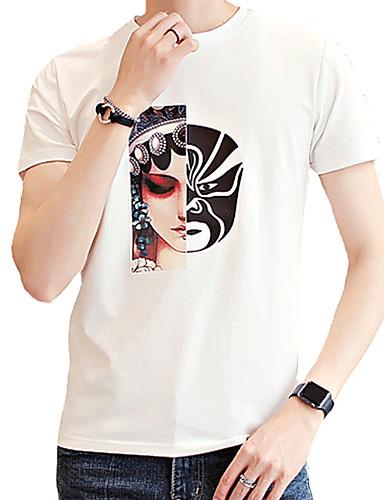 Majica s rukavima Muškarci - Osnovni Dnevno Geometrijski oblici
