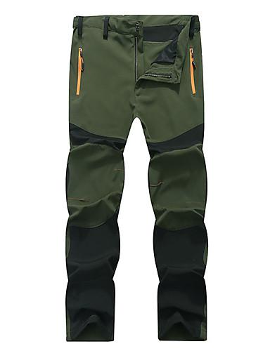cheap Outdoor Clothing-Men's Hiking Pants Outdoor Lightweight Windproof Breathable Moisture Wicking Spring Summer Pants / Trousers Bottoms Camping / Hiking Fishing Climbing Green / Black Khaki Blue / Black XXL XXXL 4XL