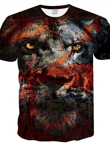 490453538a Hombre Tallas Grandes Malla Camiseta