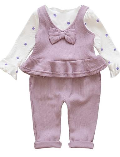 Dijete Djevojčice Jednobojni Dugih rukava Komplet odjeće