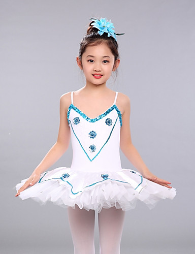 4f35372fd Ballet Dresses Girls' Performance Spandex Ruching / Split Joint Sleeveless  Tutus