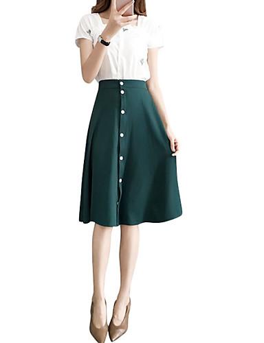 Žene Set - Jednobojni Suknja
