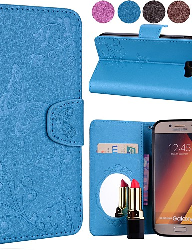 a76c4054c8aa4 غطاء من أجل Samsung Galaxy A7 (2018)   A5 (2018) محفظة   حامل ...