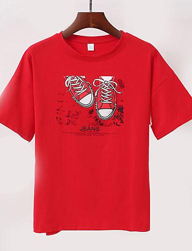 Majica s rukavima Žene - Osnovni Dnevno Geometrijski oblici