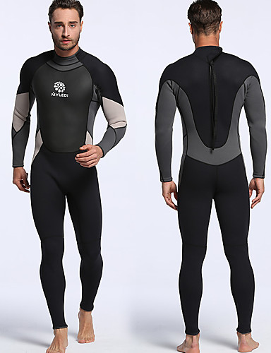9acae2891b MYLEDI Men s Full Wetsuit 3mm Diving Suit Quick Dry