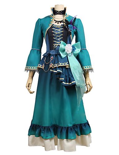 povoljno Anime kostimi-Inspirirana BanG Dream Cosplay Anime Cosplay nošnje Japanski Cosplay Suits Other 3/4 rukava Kaput / Suknja / Haljina Za Uniseks