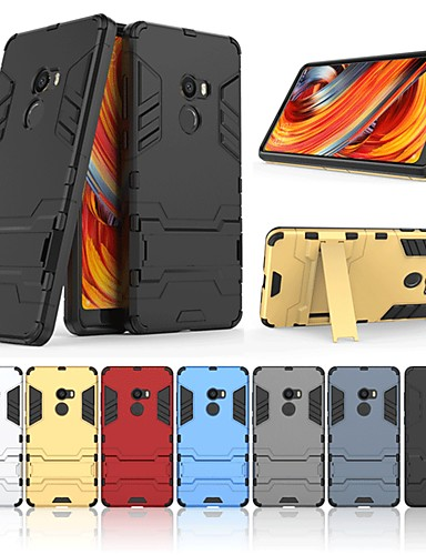 Θήκη Za Xiaomi Xiaomi Mi Mix 2 Otporno na trešnju / sa stalkom Stražnja maska Jednobojni Tvrdo PC