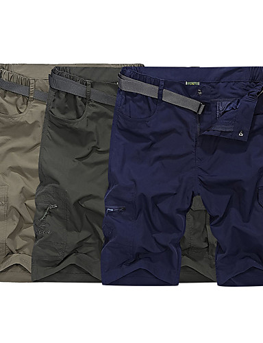 69092bed3a Men's Hiking Shorts Outdoor Fast Dry Quick Dry Breathability Sweat-Wicking  Spring, Fall, Winter, Summer Shorts Bottoms Outdoor Exercise Multisport  Army ...